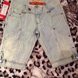 Классные джинсовые шорты для девочки фирмы Phink на р. 152 От 70 см