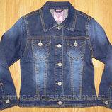 Новая джинсовая курточка для девочки 116р.