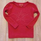 Яркий реглан H&M на девочку, размер 12-18 месяцев. Состояние идеальное