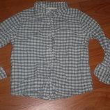 рубашка на лето хнм на 3-4года