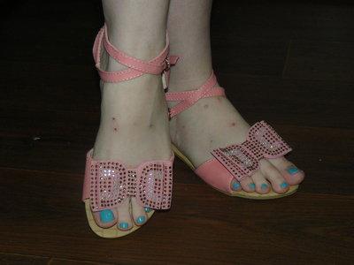 Нежные сандалии в наличии 36-41 размер