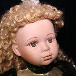 Скидка. Коллекционная фарфоровая кукла Leonardo Collection
