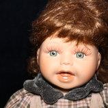 Скидка. Коллекционная фарфоровая кукла характерная