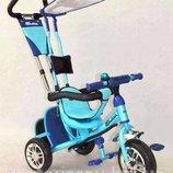 Велосипед детский трехколесный Lexus Trike BC-15 Safari резиновые колёса