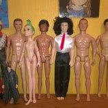кены разные Коллекционная кукла куколка Кен, реслеры, Mattel друг Барби оригинал, маттел