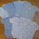 Продам бодики Early days на возраст 0-3 месяца. Англия