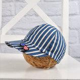 Джинсовая детская кепка бейсболка блайзер для мальчиков American Boy 42-46, 46-50, 50-54 см