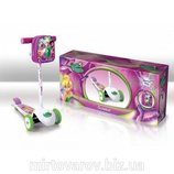 Самокат 3-x колесный Disney Fairies Феи Код Fairies