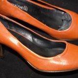 Красивые туфли Minelli размер 36, стелька 23,5 см. Кожа