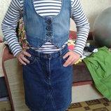 жилетка джинс р 128 см на 8 лет