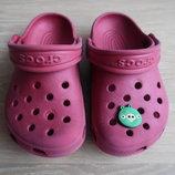 Кроксы аквашузы ветнамки 15,5 см детские Crocs Крокс оригинал обувь для пляжа бассейна