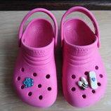 Кроксы аквашузы ветнамки 16,3 см детские Crocs Крокс оригинал обувь для пляжа бассейна