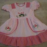 Нове красиве плаття Baby Польща на вік 1,5-2 рочки