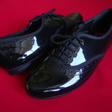 Туфли оксфорды Bootleg натур кожа 36-37 размер