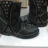 новые итальянские кожаные ботинки