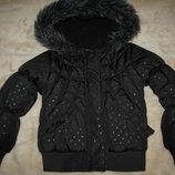 Куртка брендова стильна шикарна George Оригінал р.104-110 на вік 3-4 рочків