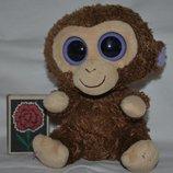 TY фирменный Милейшая мартышка обезьянка глазастик маленький