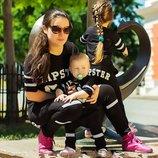 Стильный летний детский спортивный костюм унисекс 80 см-128 см HIPSTER в расцветках.