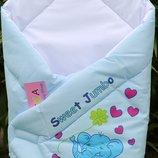 Конверт-Одеяльце для выписки новорожденных Anikababy