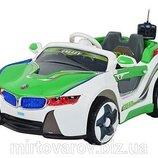 Детский электромобиль. БМВ. BMW vision. HL 718 Зелёный.Код HL 718