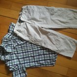 капри мальчику подростку рост 164 рубашка 12-13 л