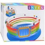 Детский батут Intex Jump-O-Lene Transparent Ring Bounce. 48264Код 48264
