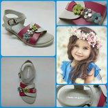 Качественая европейская обувь, Кожаные детские босоножки производитель Испания