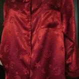 пижама атласная красная р 38-40 евро 10-12