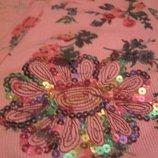 Летняя женская кофта-футболка-топ с запахом Розовая100%cotton,хлопок SASHA 100%ОРИГИНАЛ L-XL,46-50
