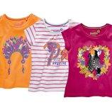 Нові котонові футболкі фірми Lupilu із Германії 110-116 рост котон