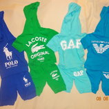 Летние костюмы на мальчиков 2-3 года Emporio Armani,Lacoste,Polo,GAР.
