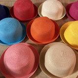 Детская шляпка с ушками, не парит голову есть опт много цветов
