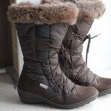 Everest.Раз 37.Зимние,теплые,мембранные сапоги Everest.