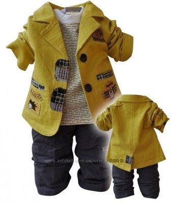 Нарядный костюм-тройка для мальчика на 3года