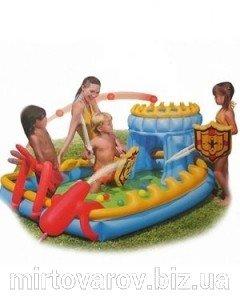 Игровой цент besnway 52169 « Осада замка», душ, шарики, оружие