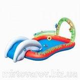 Игровой центр 53051 Слоник детский бассейн с горкой