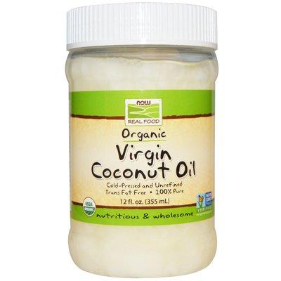 Кокосовое масло органическое Now Foods 355 ml В наличии