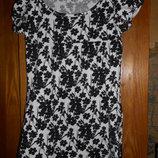 трикотажное платье и сарафан 10-11лет