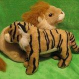 Тигр.Тигрик.Лев.Мягкая игрушка.Мягка іграшка.Мягкие игрушки.TY toys