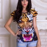 футболки женские 3D принт