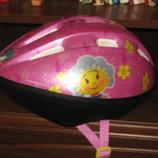 шлем защита для катания на роликах и велосипеде Фифи для девочки