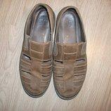 Новые туфли сандали закрытые Timberland мужские натуральная кожа 11, 5 р.