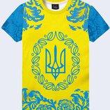 футболки принт, свитшоты, рюкзаки патриотические Украина 3D