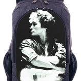 Рюкзак с принтом Виктор Цой Рок Украина городской рюкзак купить