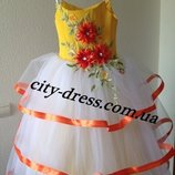 Нарядное детское платье-ВНАЛИЧИИ