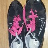 кроссовки атлетика с шипами бег nike 42р41р-26см