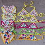 Новые раздельные купальники для девочек размер 28-30-32-34.