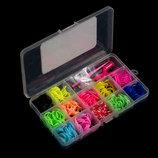 Набор резинки для плетения браслетов браслетиков rainbow loom bands