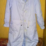 Пальто куртка на синтапоне большой размер