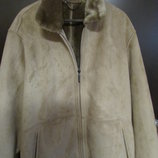 куртка демисезонная дублёнка р большой L XL